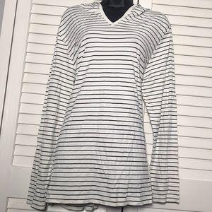 Striped Karen Kane Long-Sleeved Too